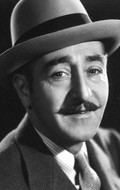 Actor Adolphe Menjou - filmography and biography.