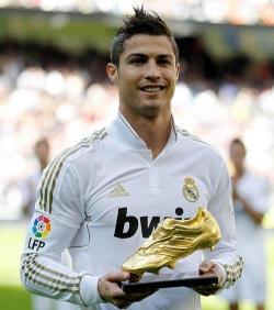 Actor Cristiano Ronaldo - filmography and biography.