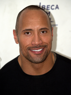 Actor, Producer Dwayne Johnson - filmography and biography.