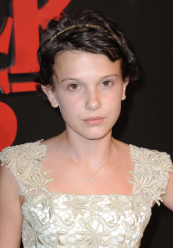 Actress Millie Bobby Brown - filmography and biography.