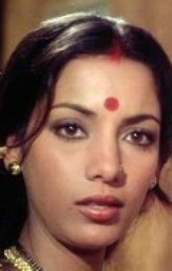 Actress Shabana Azmi - filmography and biography.