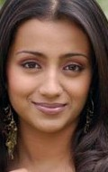 Actress Trisha Krishnan - filmography and biography.