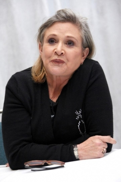 Carrie Fisher - best image in filmography.