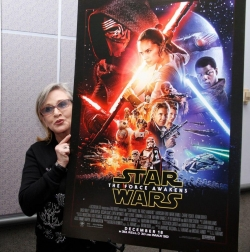 Carrie Fisher - best image in biography.