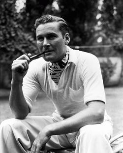 Errol Flynn - best image in filmography.