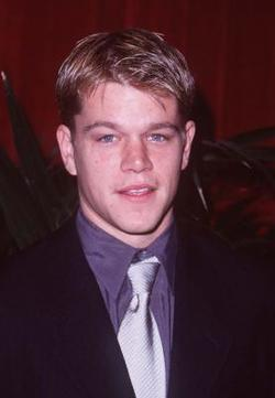 Matt Damon - best image in biography.