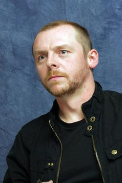 Simon Pegg - best image in filmography.