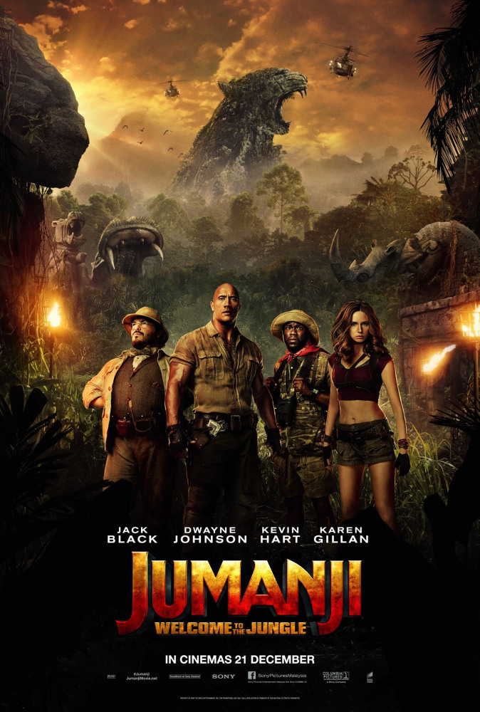 Jumanji: Welcome to the Jungle images, cast and synopsis.