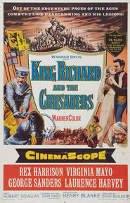 King Richard and the Crusaders movie in Laurence Harvey filmography.