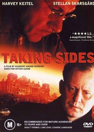 Taking Sides movie in Stellan Skarsgard filmography.