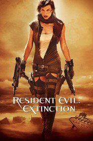 Resident Evil: Extinction movie in Milla Jovovich filmography.