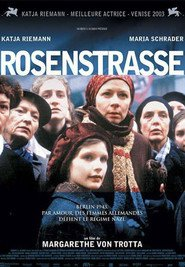 Rosenstrasse movie in Katja Riemann filmography.