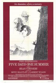 Five Days One Summer movie in Sean Connery filmography.
