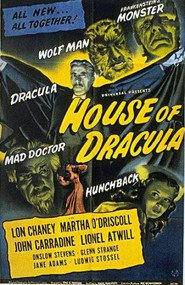 House of Dracula movie in Glenn Strange filmography.