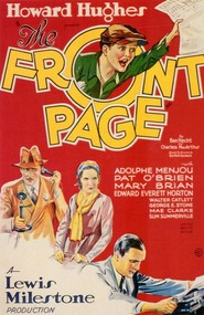 The Front Page movie in George E. Stone filmography.