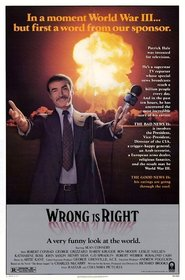 Wrong Is Right movie in Leslie Nielsen filmography.