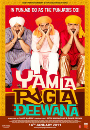 Yamla Pagla Deewana movie in Dharmendra filmography.