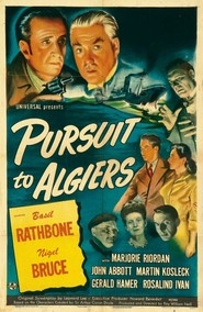 Pursuit to Algiers movie in Rex Evans filmography.