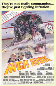 High Risk movie in Anthony Quinn filmography.