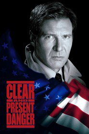 Clear and Present Danger movie in Harrison Ford filmography.