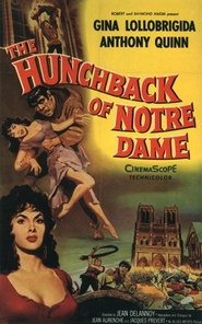 Notre-Dame de Paris movie in Anthony Quinn filmography.