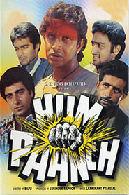 Hum Paanch movie in Sanjeev Kumar filmography.