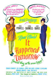 It Happened Tomorrow movie in George Cleveland filmography.