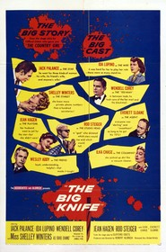 The Big Knife movie in Shelley Winters filmography.