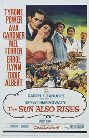 The Sun Also Rises movie in Errol Flynn filmography.