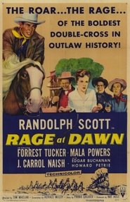 Rage at Dawn movie in Edgar Buchanan filmography.