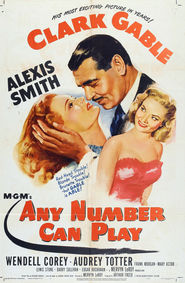Any Number Can Play movie in Edgar Buchanan filmography.