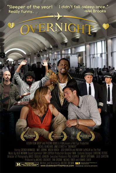 Overnight is the best movie in Euriamis Losada filmography.