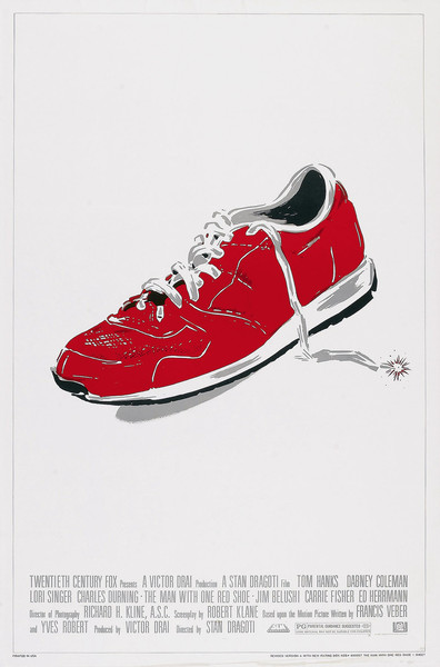 The Man with One Red Shoe is the best movie in Tom Noonan filmography.