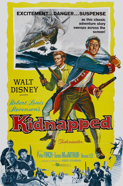 Kidnapped is the best movie in Niall MacGinnis filmography.