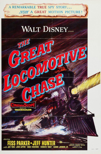 The Great Locomotive Chase is the best movie in Eddie Firestone filmography.
