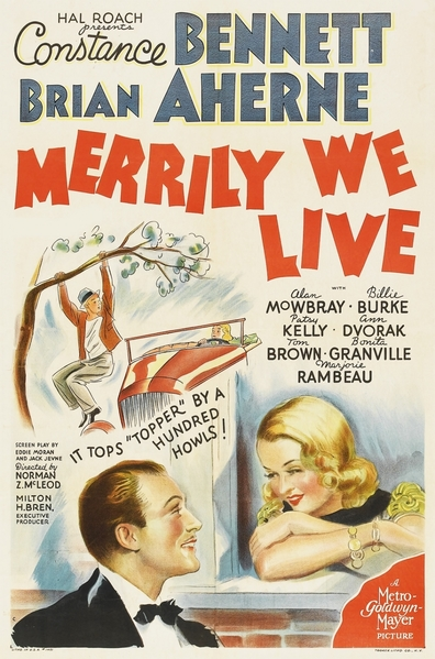 Merrily We Live is the best movie in Bonita Granville filmography.