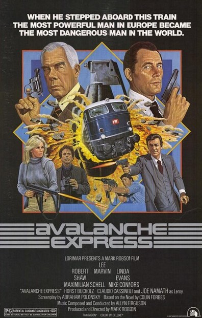 Avalanche Express is the best movie in Claudio Cassinelli filmography.