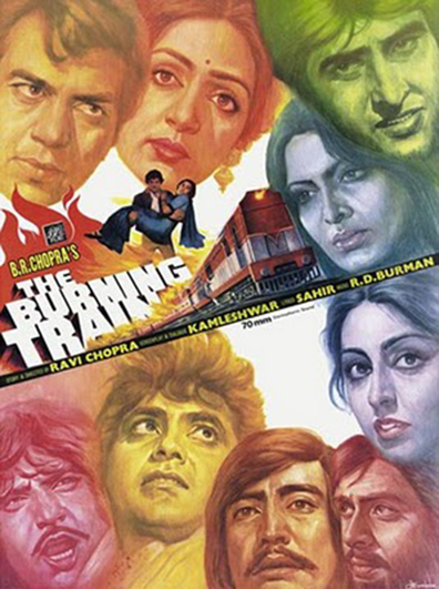 The Burning Train is the best movie in Dharmendra filmography.