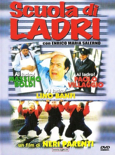 Scuola di ladri is the best movie in Enrico Maria Salerno filmography.