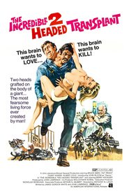 The Incredible 2-Headed Transplant movie in Bruce Dern filmography.
