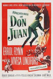 Adventures of Don Juan movie in Errol Flynn filmography.