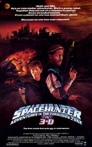 Spacehunter: Adventures in the Forbidden Zone movie in Michael Ironside filmography.
