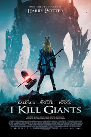 I Kill Giants movie in Zoe Saldana filmography.