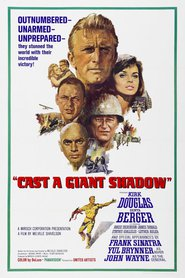 Cast a Giant Shadow movie in Angie Dickinson filmography.