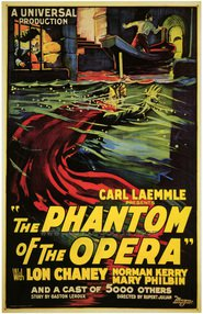 The Phantom of the Opera movie in Snitz Edwards filmography.
