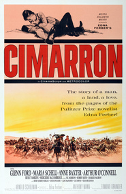 Cimarron movie in Maria Schell filmography.