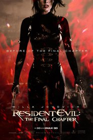 Resident Evil: The Final Chapter movie in Milla Jovovich filmography.