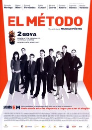 El metodo movie in Carmelo Gomez filmography.