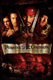 Pirates of the Caribbean: The Curse of the Black Pearl movie in Geoffrey Rush filmography.