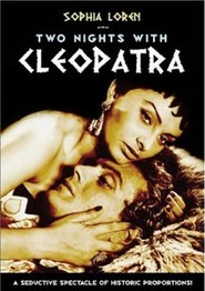 Due notti con Cleopatra movie in Alberto Sordi filmography.